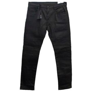 Belstaff Elmbridge Men's Black Jeans with Stitching