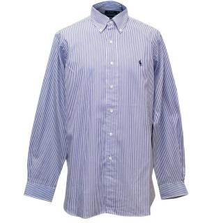 Polo Ralph Lauren Classic Fit Blue Striped Shirt