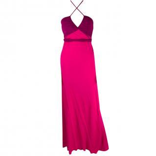 Diane Von Furstenberg Maxi Wrap Dress Gown
