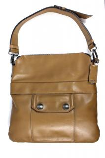 Miu Miu Calf Leather Handbag in Brown