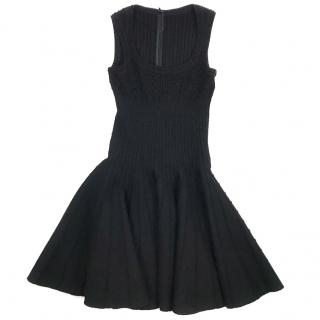 Alaia Black Knit Dress