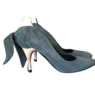 Nina Ricci suede shoes