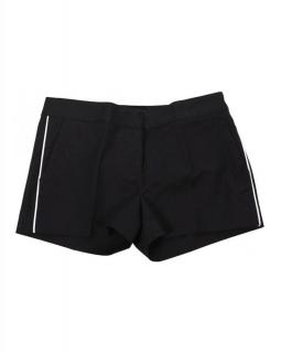 Michael Michael Kors Black Contrast Piping Detail Tailored Shorts