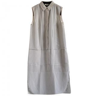 Rag & Bone fluid silk striped dress