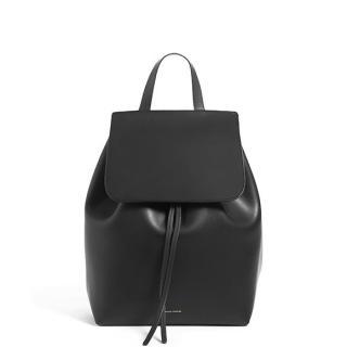 Mansur Gavriel Black Flamma Backpack