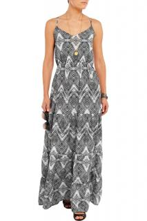 Melissa Odabash Avalon Printed Voile Dress