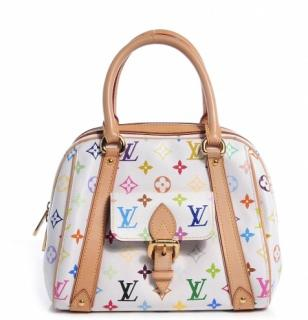 Louis Vutton Priscilla Multicolore White Baguette