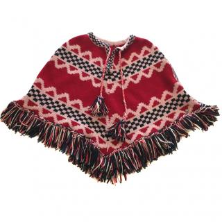 Chanel Paris Dallas Poncho