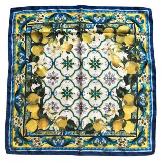 Dolce & Gabbana Sicily Lemon scarf