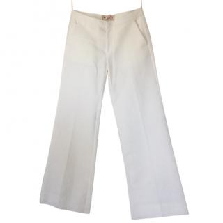 Marni White Trousers