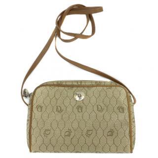 Christian Dior Vintage Logo Shoulder Messanger Bag