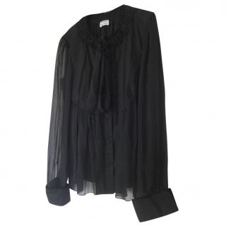 Philosophy Di Alberta Ferretti Black Blouse
