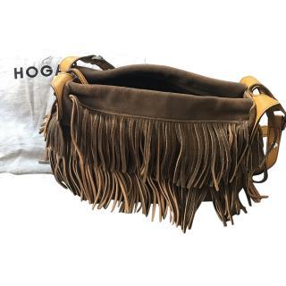 Hogan Fringed Shoulder Bag