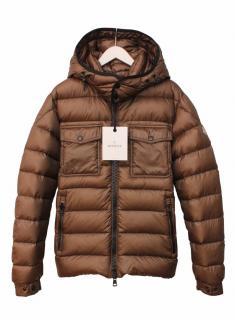Moncler Edward Men's jacket in Light Brown size 3
