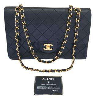 Chanel Vintage Lamb Skin Flap Bag