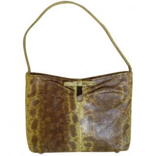Jimmy Choo mini lizard handbag