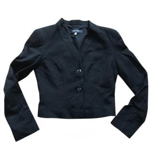 Versace Jeans Couture Black Mini Jacket