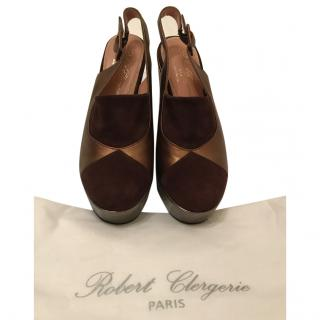 Robert Clergerie Slingback Shoes
