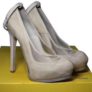 Fendi Beige heels It 40