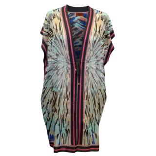 Missoni Mare Patterned Beach Cover-up Dress with String Tie