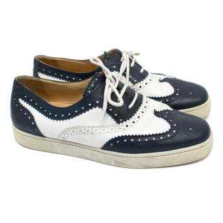 Christian Louboutin Men's Leather Brogue Trainers