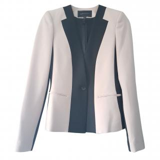 BCBG Max Azria Beige and Black Blazer