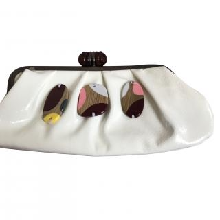 Marni Vintage Abstract Clutch