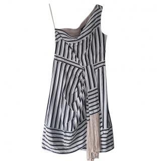 BCBG Max Azria Striped Dress