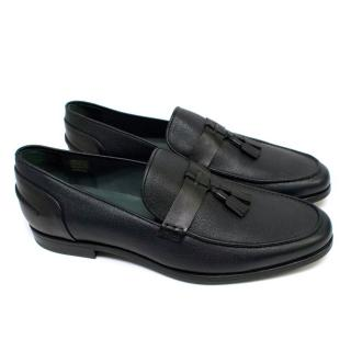 Lanvin Men's Leather Slip-on Loafers with Tassels