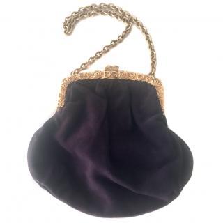 Dolce & Gabbana Purple Evening Bag