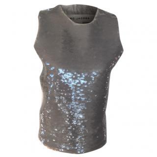 Marc Jacobs sequin top