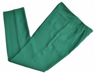 Vionnet green fluid trousers