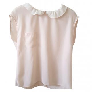 Sandro sleeveless blouse