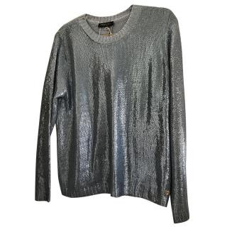 Twin Set by Simona Barbieri Metallic Jumper