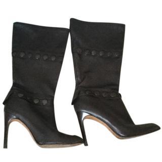 Pedro Garcia dark brown boots