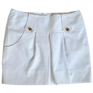 DSquared2 White Mini Skirt