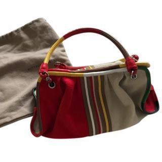 Bottega Veneta Canvas Handbag