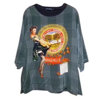 Dolce & Gabbana Men's Silk T-shirt
