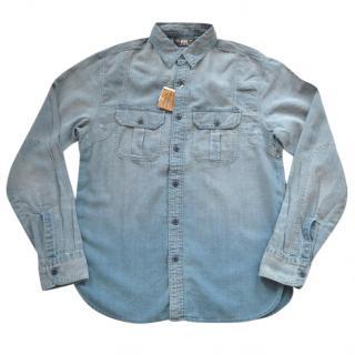 Ralph Lauren RRL linen-cotton blend shirt