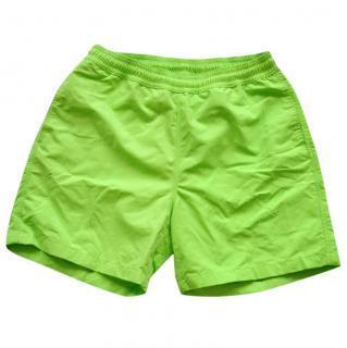 Ralph Lauren Purple Label Amalfi lime-green swim trunks