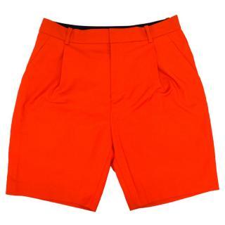 3.1 Phillip Lim Men's Bright Orange Shorts