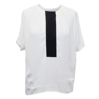 Bimba and Lola White Sleeveless Blouse