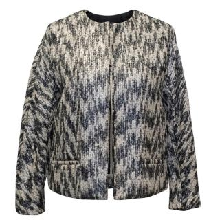 Malene Birger Metallic Multicolour Cropped Jacket