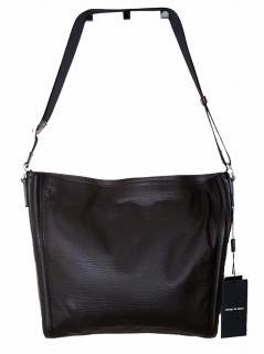 Emporio Armani Brown Messenger Bag