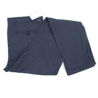 Club Monaco 'Connor Modern Slim Fit' Patterned Trousers