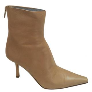 Jimmy Choo Daisy camel leather ankle boot (39)