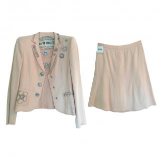 Moschino Cheap and Chic Pink Three Piece Suit