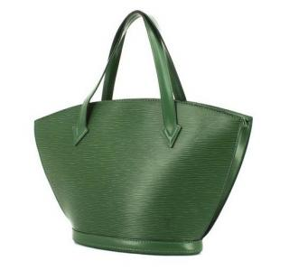 Louis Vuitton Saint Jacques Green EPI Leather  Shoulder Bag 10315