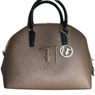 Trussardi Golden Handbag