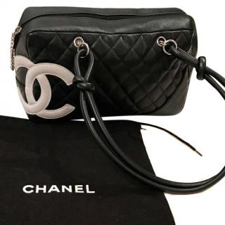 Chanel Cambon Leather Handbag